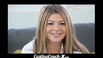 Castingcouch-x dumb blond coed needs