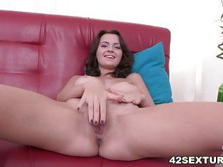 Emily thornes rectal hole stretched out by a hard rod